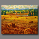 Fall Bales - 48x60 - (SOLD)